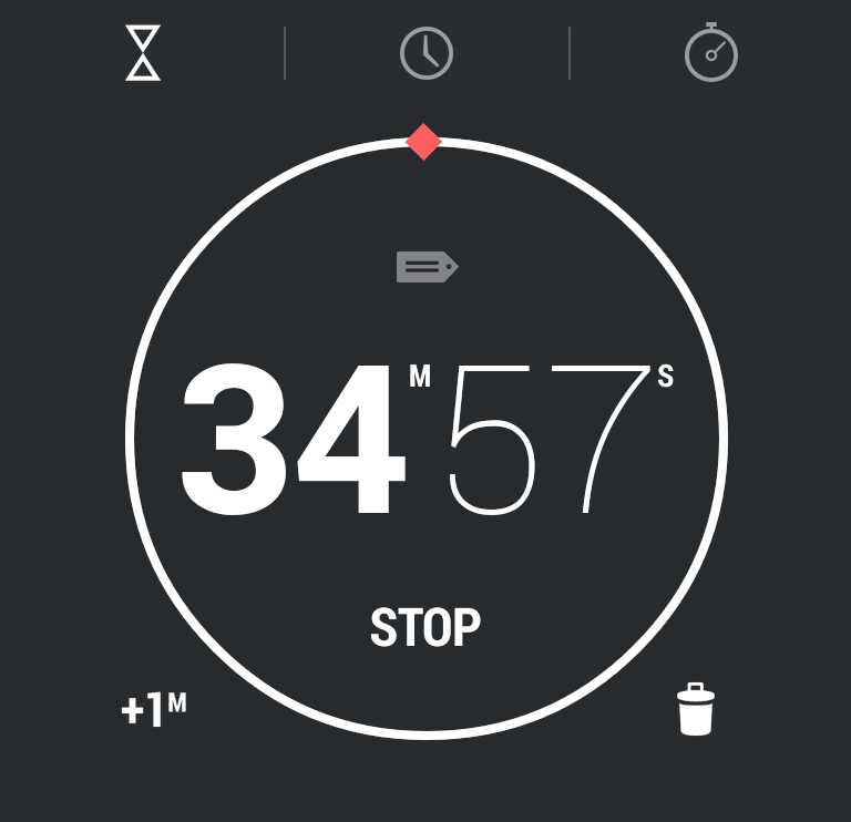 android clock: good