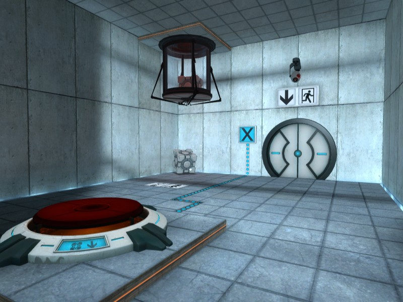 Portal - First puzzle chamber - 2007