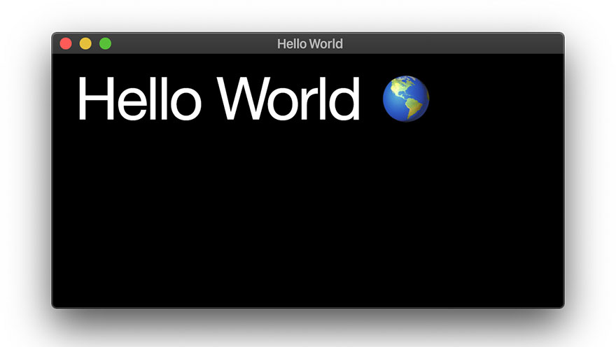 Hello World on the GPU