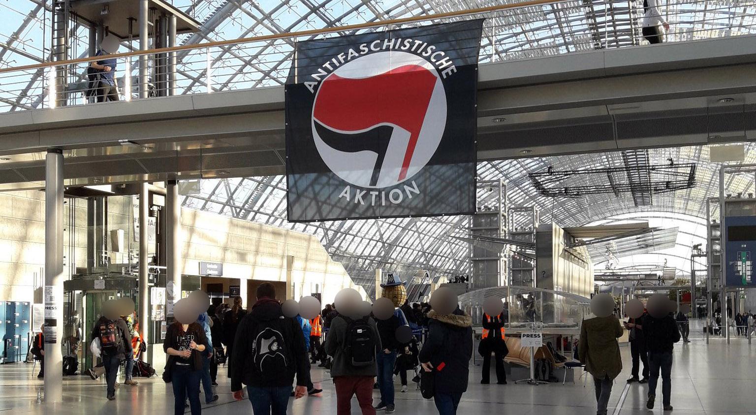 Antifa Vlag op 35C3