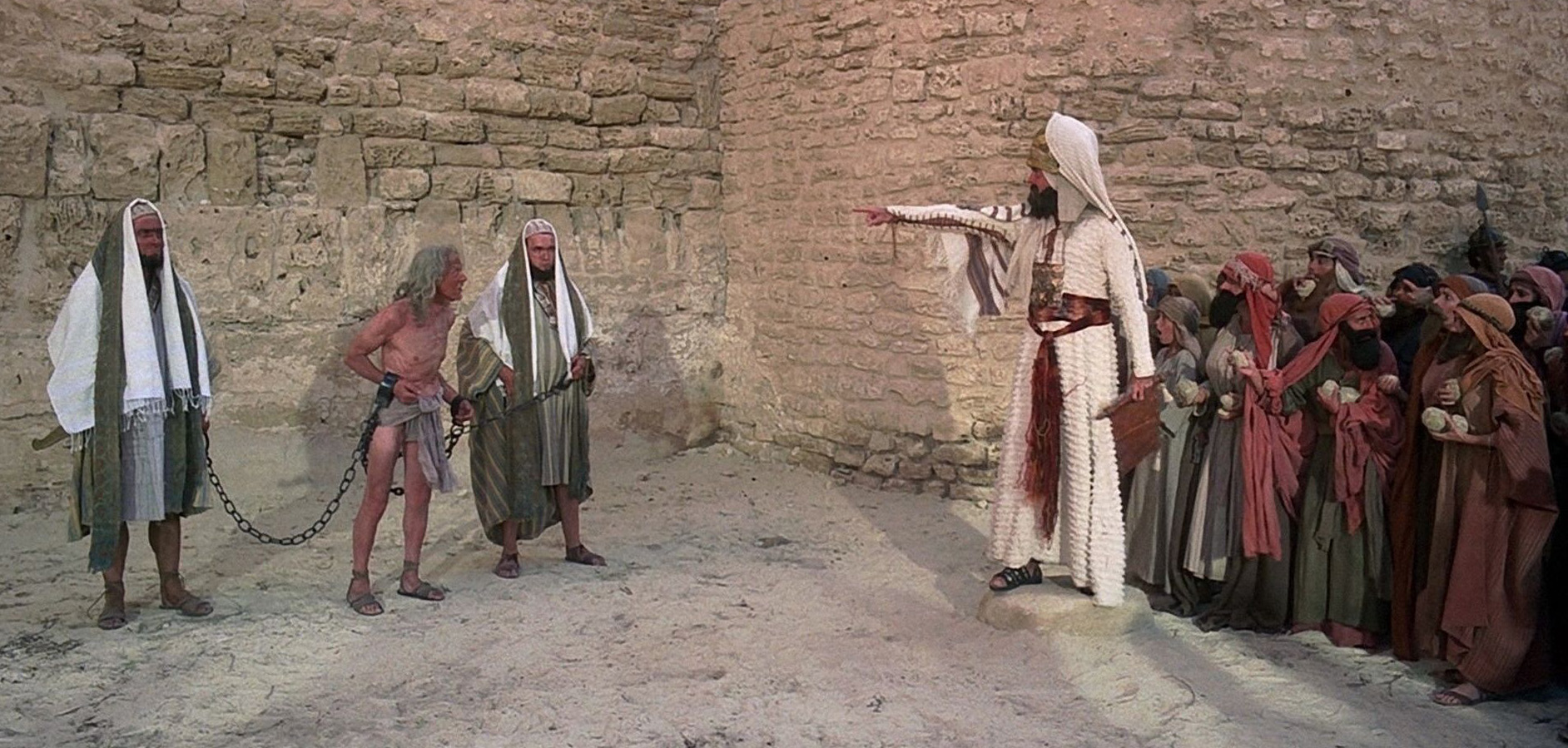 Stoning Scene - The Life of Brian