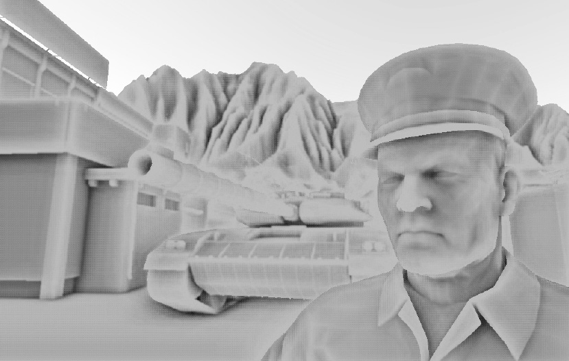 Screen-space Ambient Occlusion